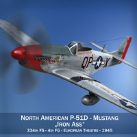 North American P-51D Mustang - Iron Ass