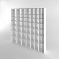 3d model of bookshelf book shelf