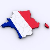 france french 3d model