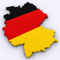 3d model of germany