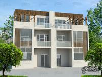 3d model building mentalray modular