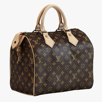 3d model louis vuitton speedy 25