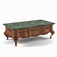 coffee table in classic style