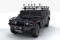 hummer h1 alpha concept 3d model