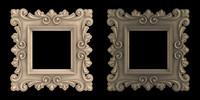obj artistic picture frame