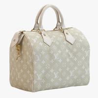 Louis Vuitton Speedy 25 Bag Cream