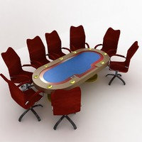3d 3ds poker table