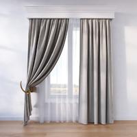 window curtain fbx
