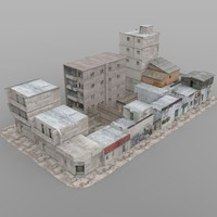 Shanty Town Buildings 2: City Blocks
