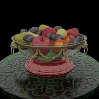 fruit 3d max