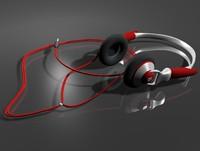 earphones b 3d max