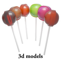 3d candy model