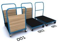 3d model truck platform