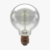 vintage g80 lightbulb light bulb 3d c4d
