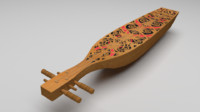 3d sape borneo instruments model