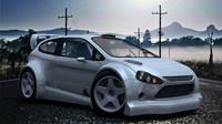 wrc car 3d model