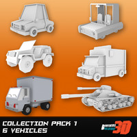 Collection Low Poly Six Pack 1