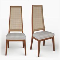 3d chair decorative model