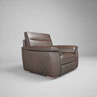 3d model of leather editions lucca natuzzi