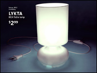 3d ikea lykta lamp light