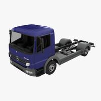 3d mercedes-benz atego model