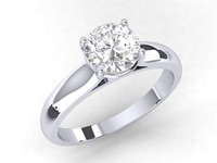 3dm single diamond engagement ring