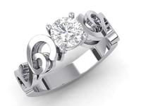 3dm diamond engagement ring