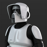 scout trooper 3d obj