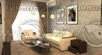 3d max interior lights