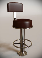 3d max mariner standing bar stool