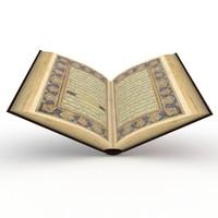 3d old quran