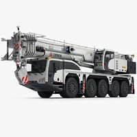 terex explorer 5500 terrain 3d model