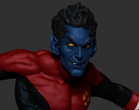 3d nightcrawler ztl zbrush model
