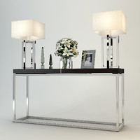 eichholtz table console magnum 3d 3ds