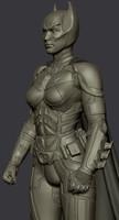3dsmax batwoman suit dark