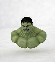 3d model hulk