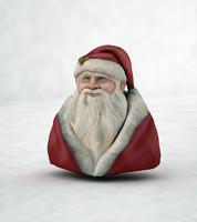 3d model santa claus
