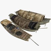 3dsmax chinese boat 2