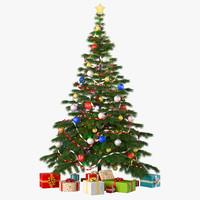 3ds max christmas tree