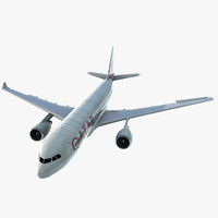 3d jet airliner airbus a330-200