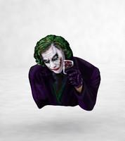 3d max joker jack nicholson