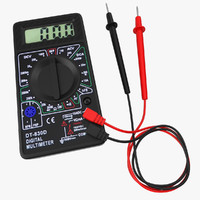 3d digital multimeter model