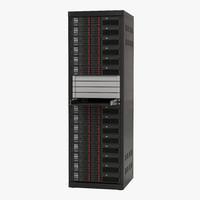 3d servers rack 2 model