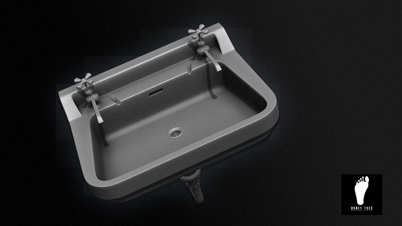 Public restroom sink max free for Public bathroom sink