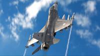 f-16 fighting falcon 3d model