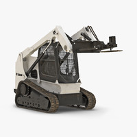 3d compact tracked loader bobcat