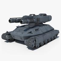 3d tank sci fi