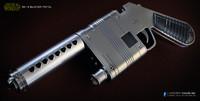 3d nn-14 blaster pistol model