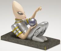 alien mayan 3d max