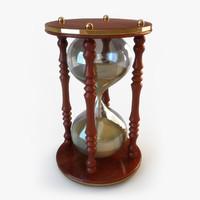 3d hourglass hour glass